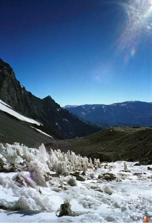 Aconcagua - lendemain de tempête au camp 1