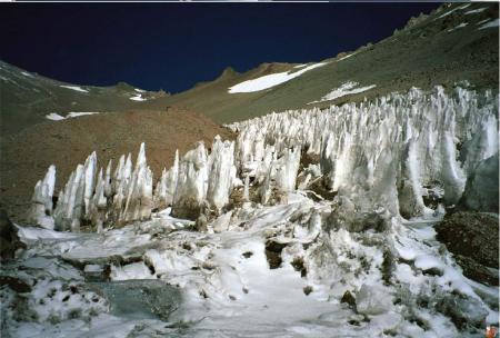 Aconcagua camp 1 - Los penitentes
